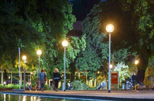 160 Leuchten bringen mehr Licht an den Stuttgarter Eckensee