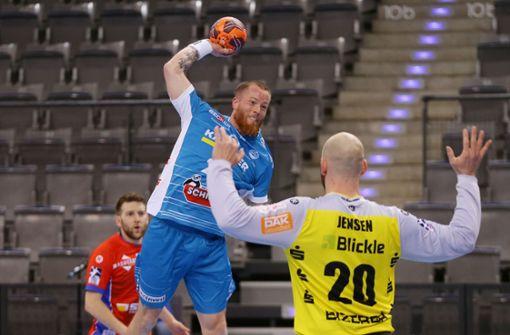 TVB Stuttgart im Derby  gegen Balingen obenauf
