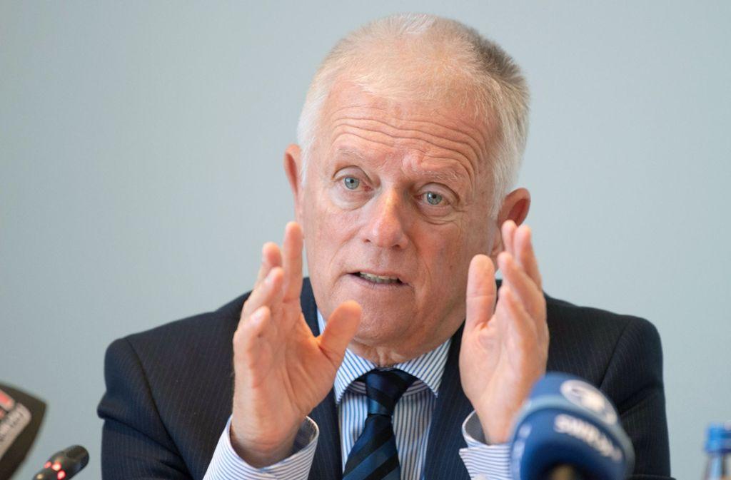 OB Fritz Kuhn ist irritiert über die Forderungen nach erneuter Prüfung von Alternativen zur Sanierung der Stuttgarter Staatsoper. Foto: dpa