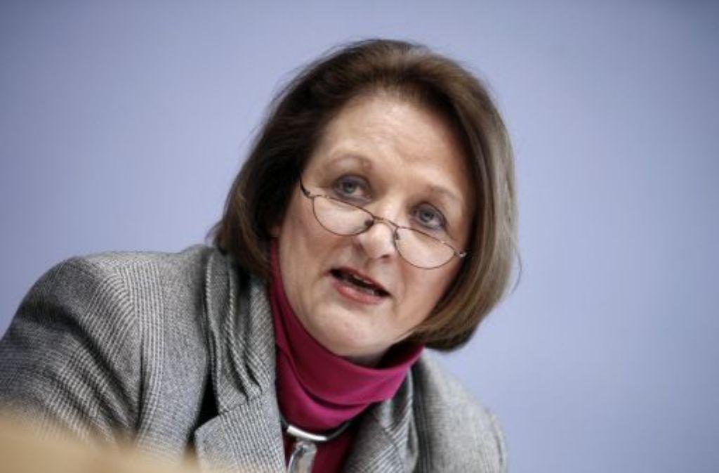 Justizministerin Sabine Leutheusser-Schnarrenberger (FDP) Foto: dpa