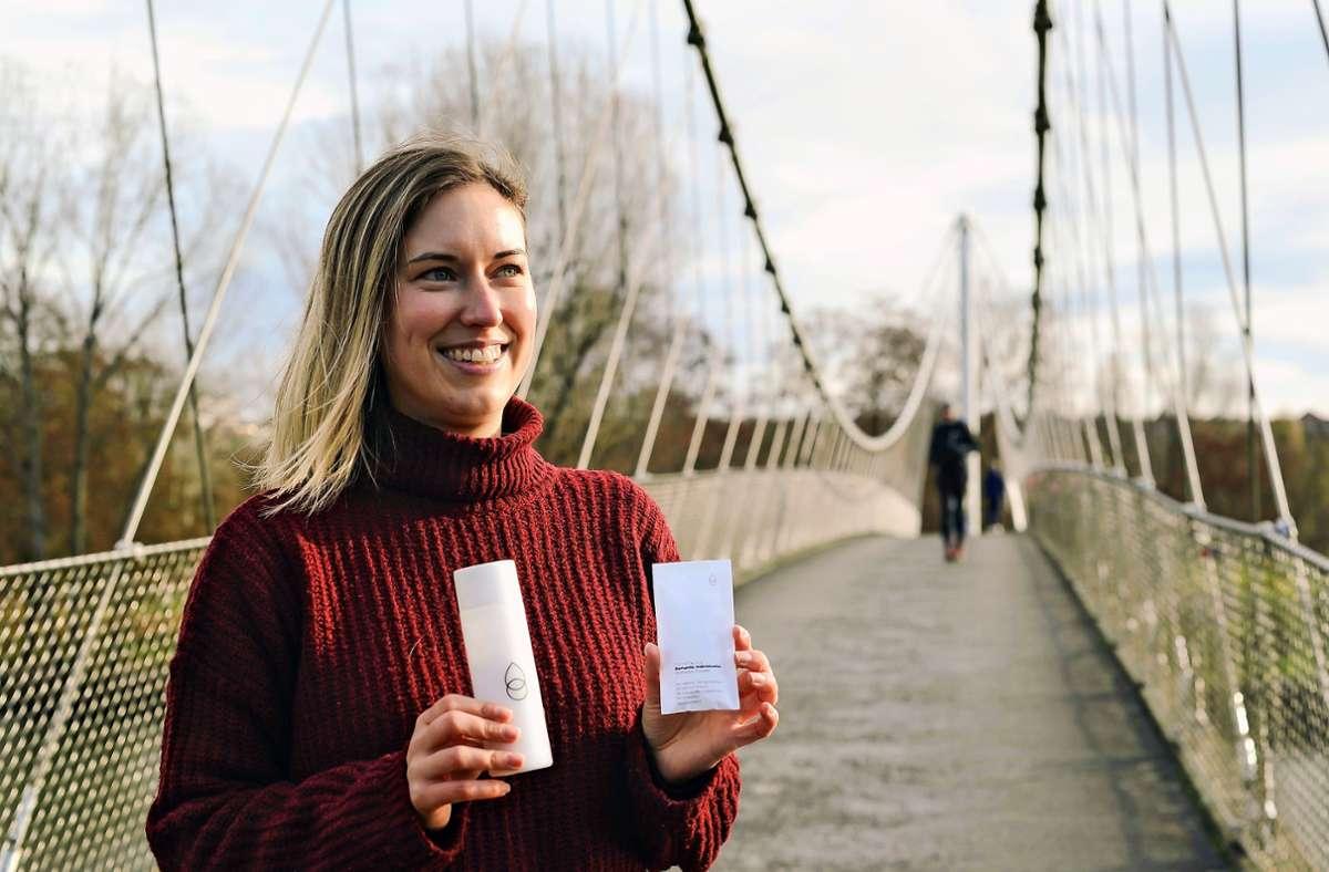 Lena Scholpp war auf Reisen, als ihr die Idee für das Pulver kam. Foto: Lichtgut/Max Kovalenko