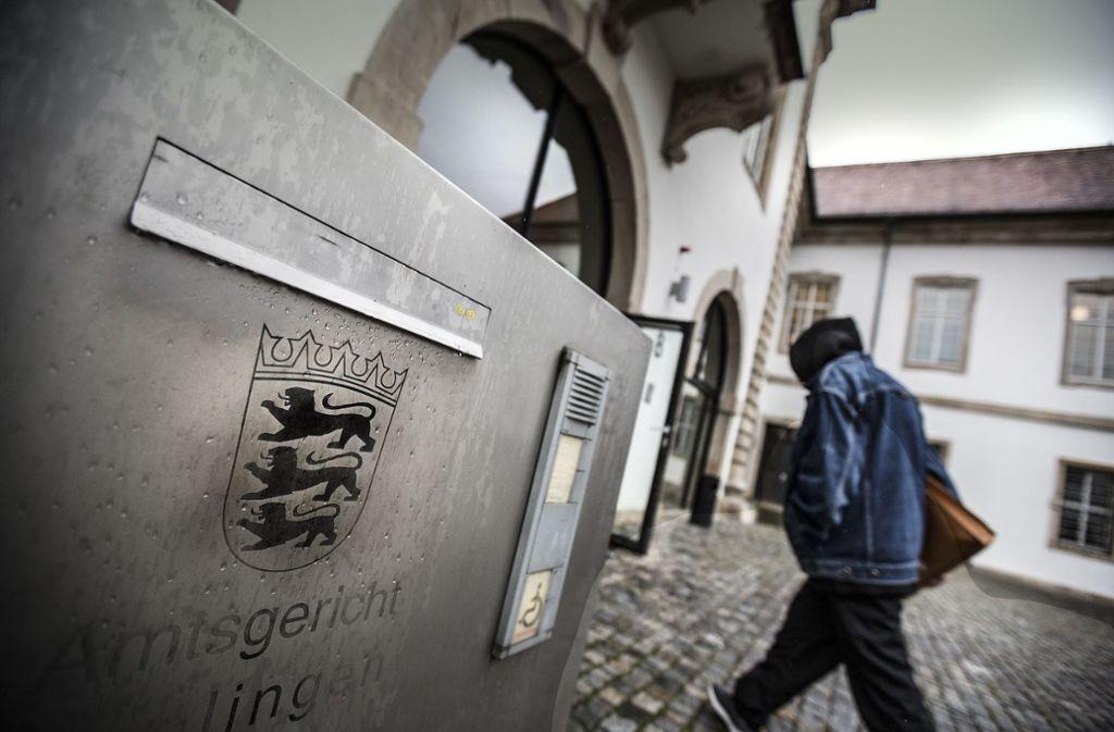 Ein 23-Jähriger ist am Amtsgericht Esslingen vom Vorwurf der Vergewaltigung freigesprochen worden. Foto: Horst Rudel