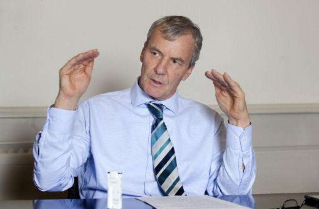 Zum Verbandschef gewählt: der Esslinger OB Jürgen Zieger. Foto: Rudel