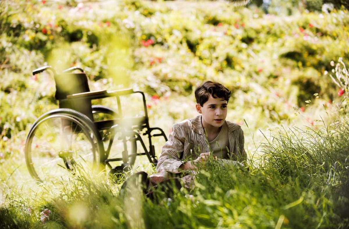 Der geheime Garten: Dickon (Amir Wilson) und Colin (Edan Hayhurst) Foto: Studiocanal