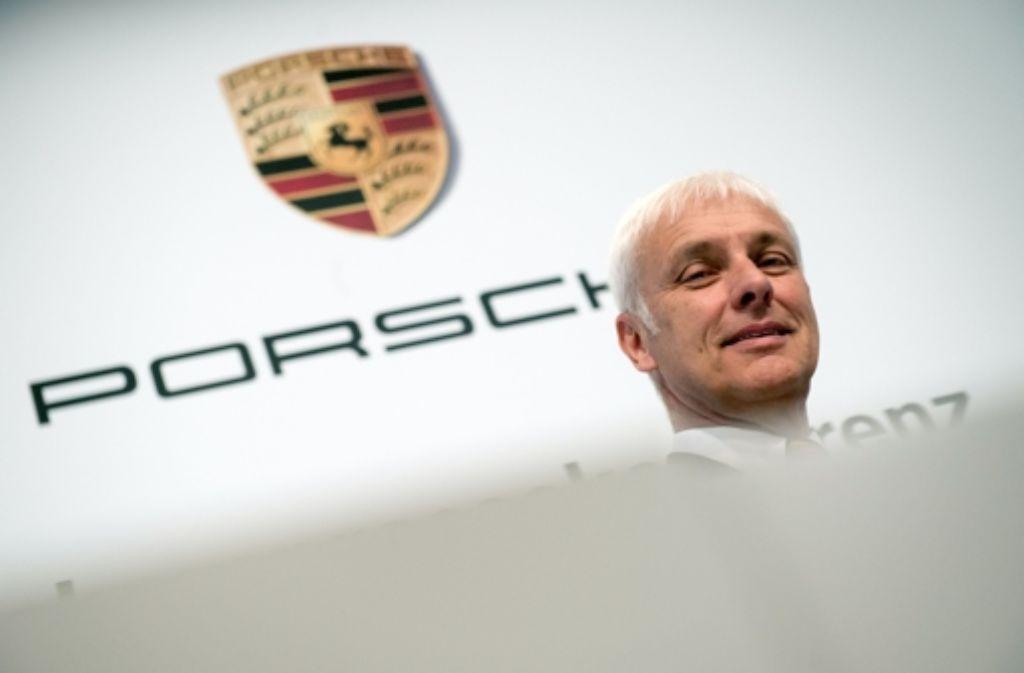 Wechselt Matthias Müller von Porsche zu Volkswagen? Foto: dpa