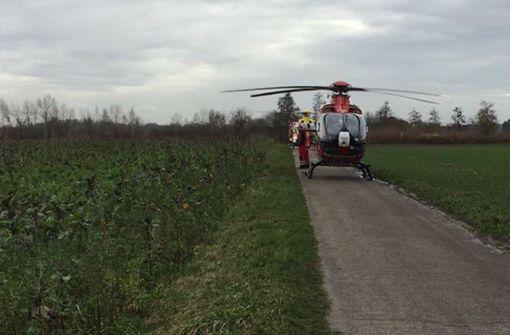 Hubschrauber gehört zur DRF-Luftrettung – Hauptsitz in Stuttgart