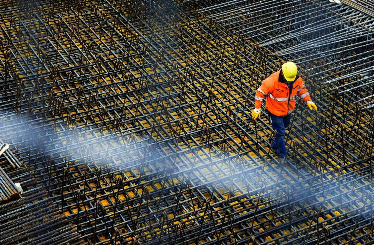 Die Bauarbeiten im Bereich des Landesflughafens können weitergehen. Foto: Lichtgut/Max Kovalenko