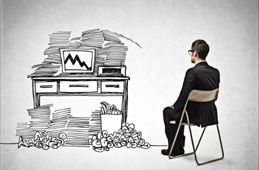 Sieben Tipps gegen das Büro-Chaos