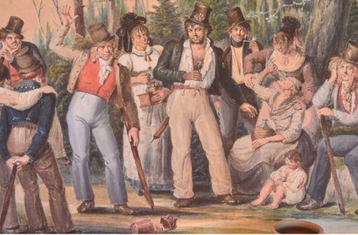 Vor 200 Jahren starb Räuber  Schwarzer Veri
