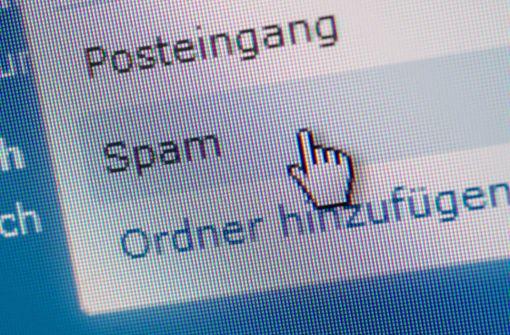 Kein Schaden durch Spam-Mail-Welle