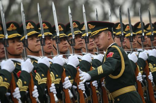 China plant die Hightech-Truppe