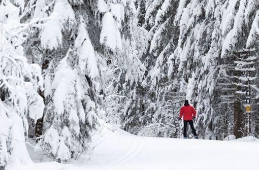 In den höheren Lagen fällt massenweise Schnee