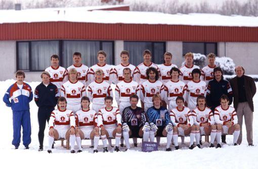 Legendäre Mannschaftsfotos des VfB Stuttgart