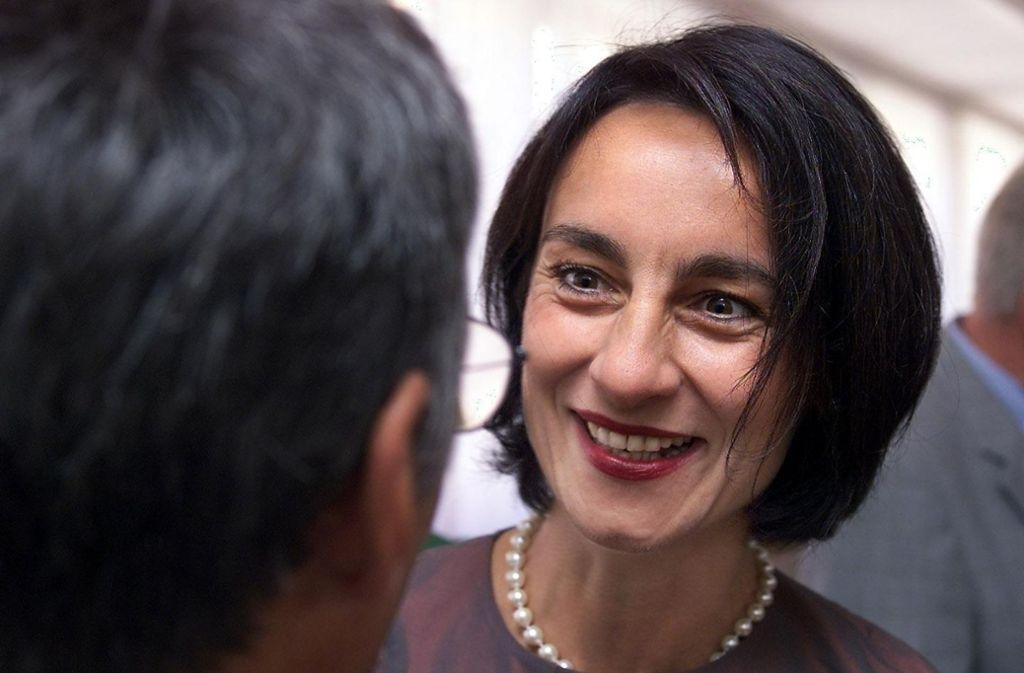 Im September 2000 hatte Brigitte Kunath-Scheffold das Amt als Bezirksvorsteherin angetreten. Foto: Kraufmann/Eppler