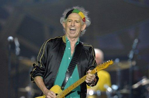 Der Stones-Gitarrist ist zurück