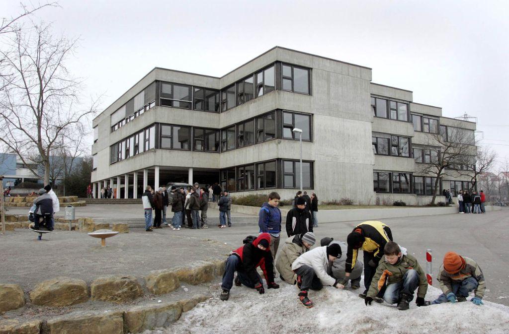 Viele Schulen – wie hier in Holzgerlingen – mussten schon saniert werden, weil zu hohe PCB-Werte gemessen wurden. Foto: factum Weise