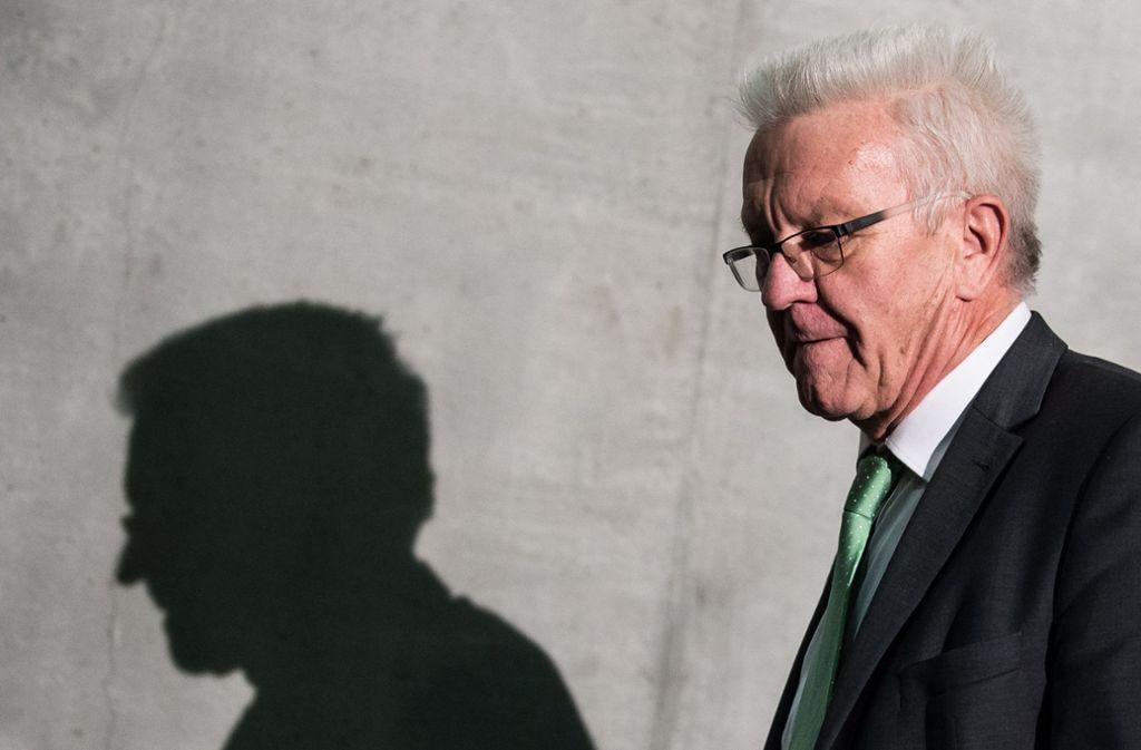 Winfried Kretschmann feiert seinen 70. Geburtstag und kann sich eine neue Kandidatur als Ministerpräsident vorstellen. Foto: dpa
