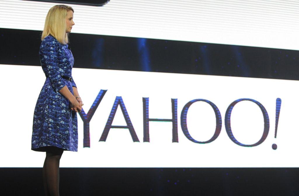 Die bisherige Yahoo-Chefin Marissa Mayer will auch nach dem Verkauf in dem Unternehmen bleiben. Foto: dpa