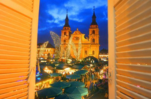 """Ludwigsburg plant Weihnachtsmarkt """"mit Volldampf"""""""