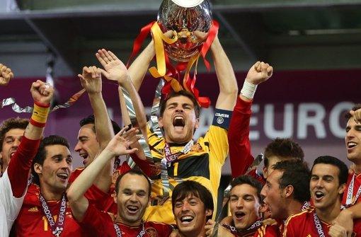 Spanien bleibt das Maß aller Fußball-Dinge