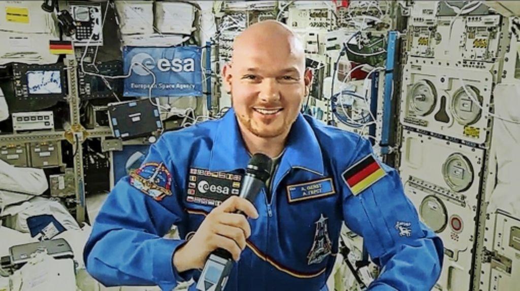 Alexander Gerst wäre bei einem Flug zum Mond dabei. Foto: Nasa