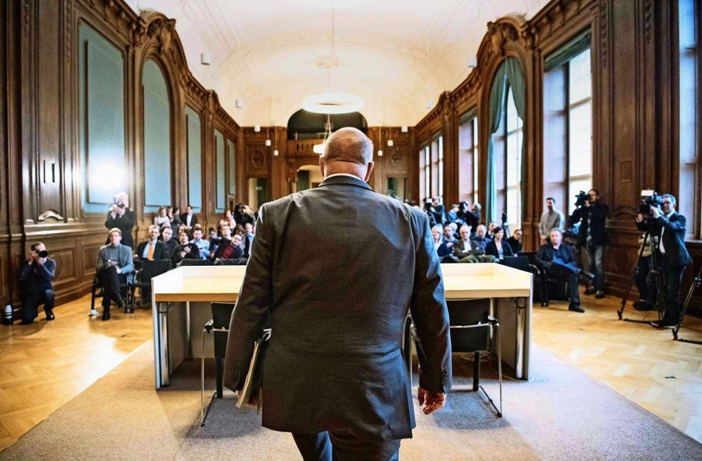 Peter Altmaier präsentiert seine Industriestrategie im Eichensaal des Wirtschaftsministeriums. Foto: dpa