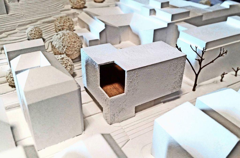Der Eingang des neuen  Jugendhauses Heslach soll direkt an der Böblinger Straße sein. Foto: Büro eberle gommel