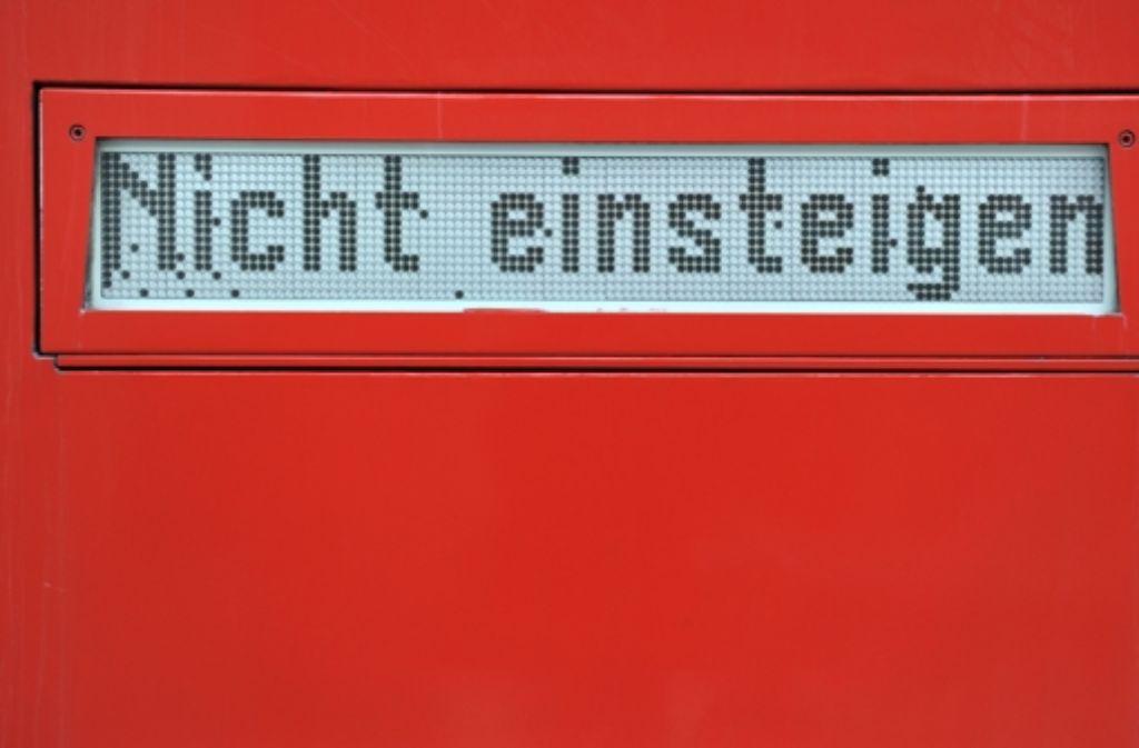 In den nächsten Tagen müssen sich Reisende auf Streiks bei der Bahn einrichten. Foto: dpa
