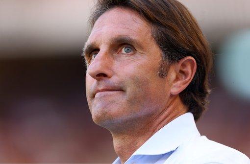 Allem Anschein nach muss Bruno Labbadia noch vor dem wichtigen Europa-League-Rückspiel am Donnerstag gegen Rijeka seinen Posten räumen. Foto: Pressefoto Baumann