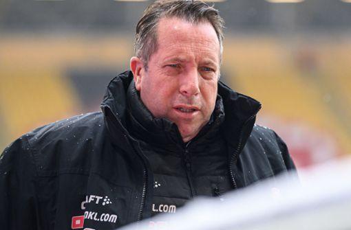 Dresden-Coach Markus Kauczinski im Krankenhaus