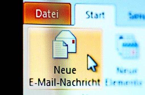 E-Mails trudeln mit Verspätung ein