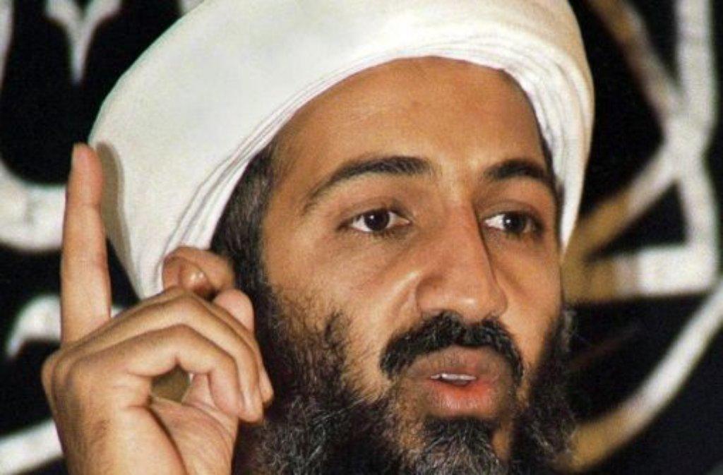 Osama bin Laden musste sich Geld von seinem Bodyguard leihen. Foto: dpa
