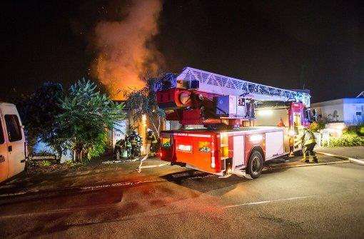 Grillkohle löst Hausbrand aus
