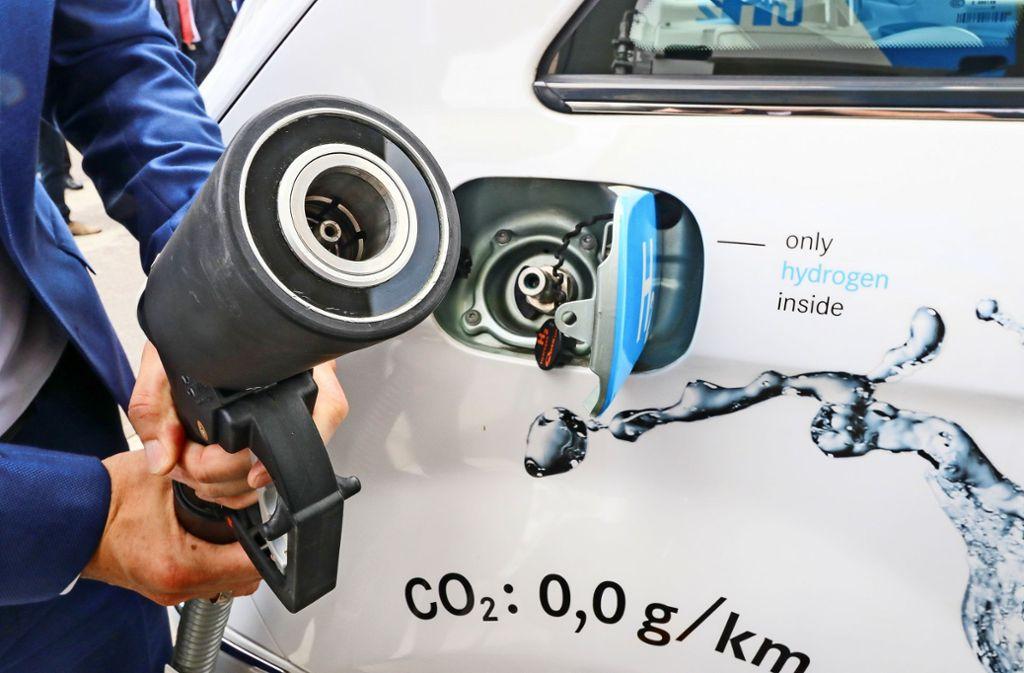 Bislang gibt es nur 71 Wasserstoff-Tankstellen – in ganz Deutschland. Foto: factum/