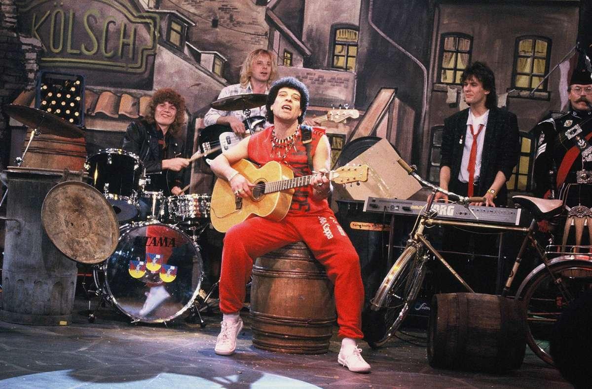 """Der britischen Rock- und Bluesband """"Mungo Jerry"""" um Frontmann, Sänger, Komponist und Gitarrist Ray Dorset gelingt 1970 der Sommerhit schlechthin. Foto: Imago"""