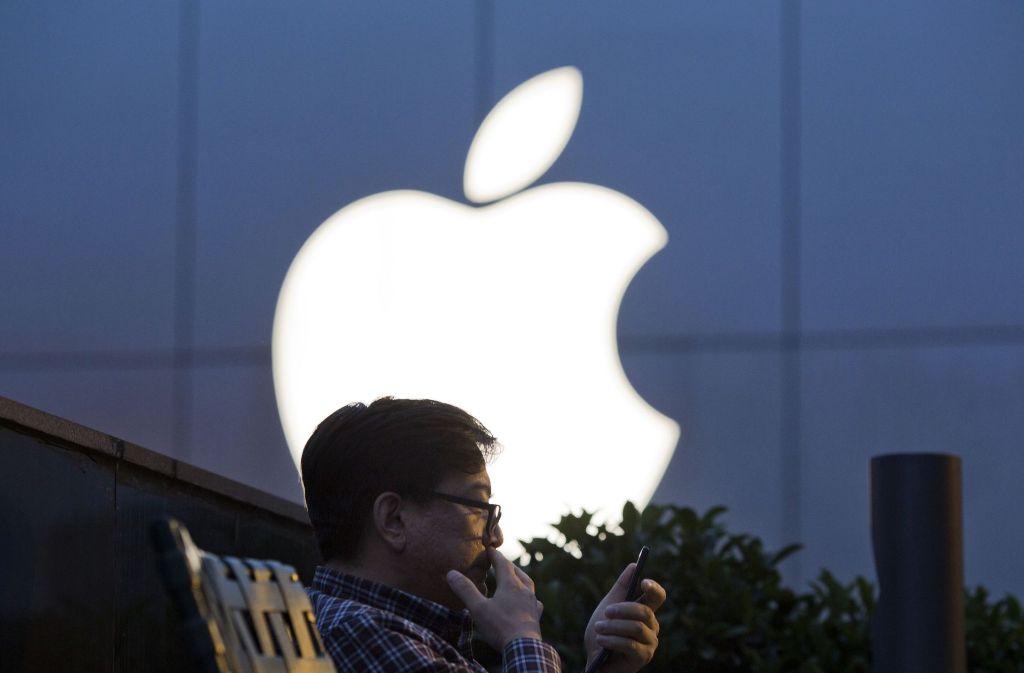 Das Smartphone ist das Zugpferd von Apple. Aber wie lange wird es das Smartphone noch geben? Foto: AP