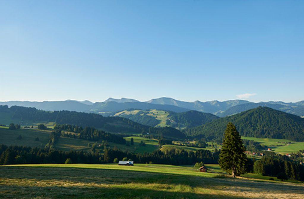 Wanderparadies Oberstaufen im Allgäu.  Foto: Oberstaufen Tourismus
