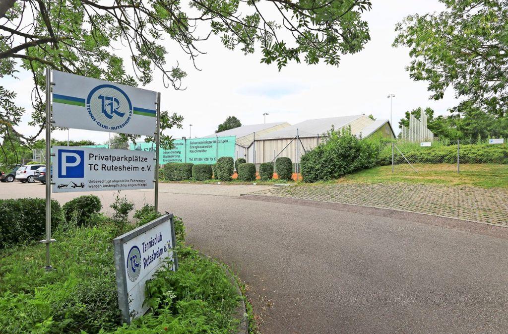 Der Tennisclub  erweitert seine  Sportanlage. Foto: factum/Granville