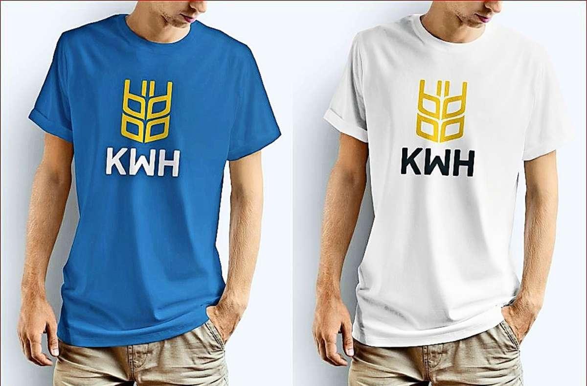 Erster Entwurf: So könnte das neue einheitliche T-Shirt aussehen. Foto: Stadt Kornwestheim
