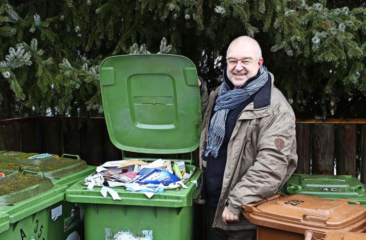 Hier lächelt Dieter Buck, doch eigentlich ist ihm nicht danach. Foto: Caroline Holowiecki