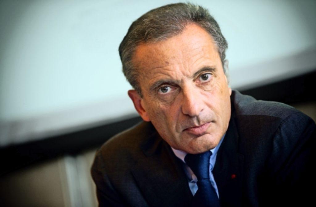 EdF-Chef Henri Proglio war über den EnBW-Deal nicht begeistert. Die wichtigsten Fakten zum EnBW-Deal zeigen wir in den Bilderstrecke. Foto: StZ