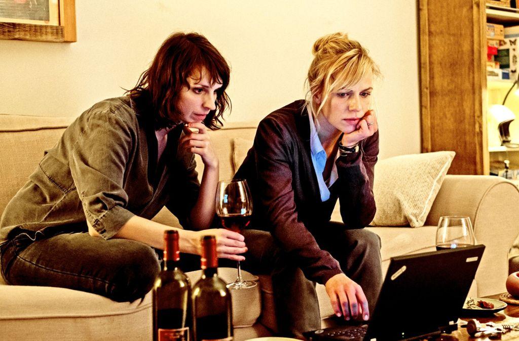 Caroline Erikson (l.) und Katrin Jaehne spielen das neue Ermittlerinnenduo. Foto: ZDF
