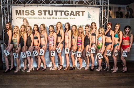 Wahl zur Miss Stuttgart ohne Bikini-Auftritt