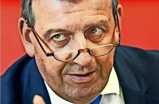 Die SPD grollt dem Verbandschef Stefan Wolf