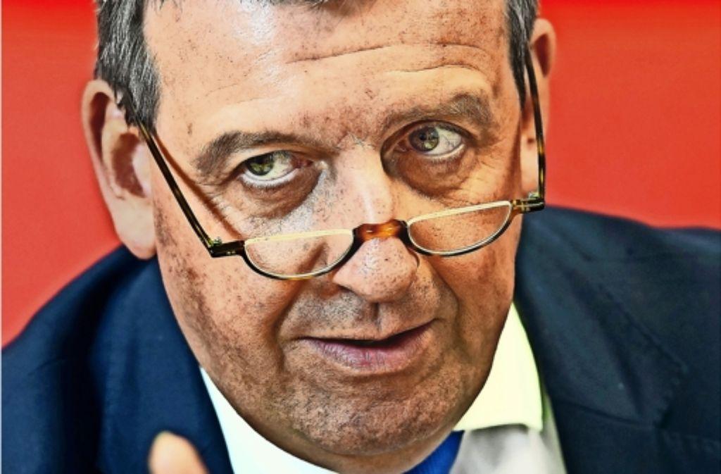 Südwestmetall-Chef Stefan Wolf  (CDU)   hat sich mit einer Empfehlung für Schwarz-Grün und Äußerungen zur Höhe von Parteispenden einigen Unmut zugezogen. Foto: dpa