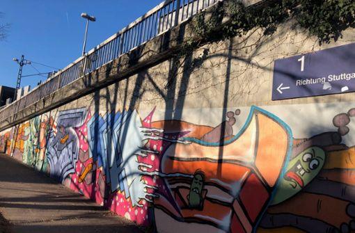Bahn fördert Graffiti an Bahnhöfen – nach Motiv-Absprachen