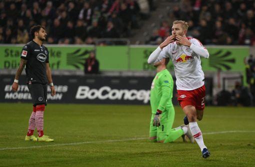 RB Leipzig demontiert Düsseldorf