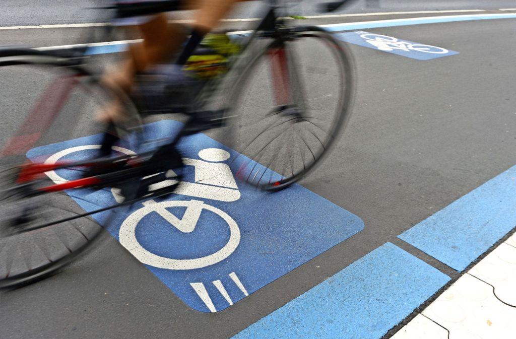 In anderen Städten, hier Göttingen, sind Radschnellwege schon länger realisiert. Foto: dpa