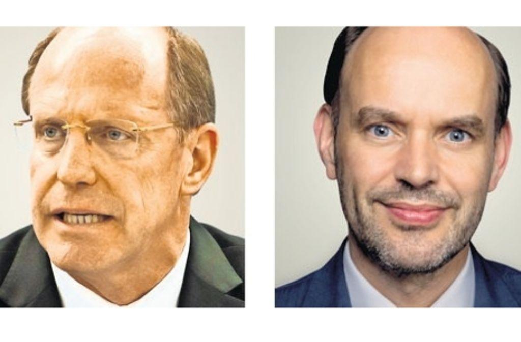 Wilfried Klenk (CDU) und  Gernot Gruber (SPD) kämpfen um den Wiedereinzug ins Landesparlament Foto: dpa, privat