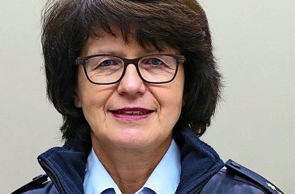 Die 55 Jahre alte Barbara Petersen wird im Januar ihr neues Amt antreten. Foto: Polizei